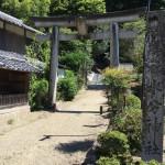 奈良県菟田野の惣社水分神社が完成しました(16.8.7)
