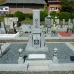 伊賀市比自岐 浄瑠璃寺様にて、真壁石の墓石を建立しました。
