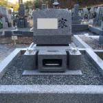 名張市東山墓園にてお墓が完成しました(17.1.18)