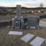 伊賀市市部墓地にて、墓石を建立しました。(茨城県産 真壁石)
