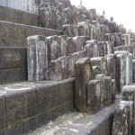 伊賀市依那具の仲福寺にてお墓の整理をしました(18.1.22)