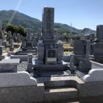 奈良県葛城市の霊園にてお墓が完成しました(30.5.21)