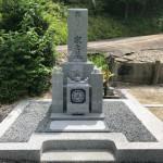 伊賀市西高倉 徳楽寺墓地にてお墓を建立しました。(30.7.11)