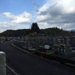 奈良県菟田野の墓地で花立修繕