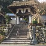 奈良県御杖の安能寺にてお墓の工事などをしました