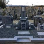 伊賀市猪田の大恩寺にて墓石完成