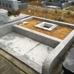 名張市東山墓園にて工事しました(16.10.26)