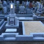 名張市東山墓園にてお墓が完成しました(16.11.5)