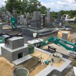 名張市東山墓園でお墓が完成しました(17.8.2)