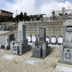 名張市上小波田の墓地にてお墓が完成しました(18.1.24)