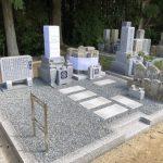名張市奈垣の墓地にてお墓が完成しました