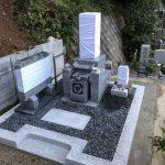 名張市下比奈知の永福寺様でお墓が完成しました