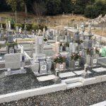 伊賀市摺見の浄瑠璃寺様にてお墓の工事をしました