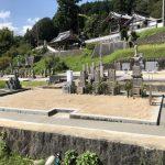 伊賀市古郡の常福寺様でお墓の工事をしました