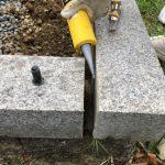 奈良県曽爾村のお墓の修繕工事をしました