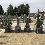 伊賀市岡波の墓地にてお墓が完成しました