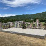 名張市赤目の丈六寺様で、歴代のご住職法印塔の移設工事が完成しました。